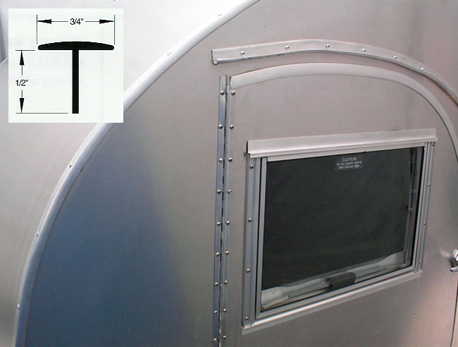 T  Door Moulding ... & Teardrop Fix-It-Shop | Teardrop Trailer Parts - Trims u0026 Aluminum ...